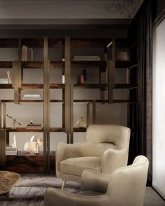 Caffeine Bookcase & Dandridge Armchair. What a lovely duo from Caffe Latte  #ModernDesign #midcenturymoderndesign #luxury #luxuryfurniture #contemporarydesign #contemporarydecor #milanhome #milanluxurylifestyle #milaninteriors #milanointeriors #interiordesignmilano #italianarchitecture #armchairs #armchairdecor #armchairdesign #homeinspiration #homedecorinspo Best Interior, Modern Interior Design, Contemporary Design, Luxury Furniture, Modern Furniture, Cream Living Rooms, World Of Interiors, Mid Century Modern Design, Minimalist Design