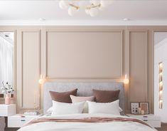 Modern Luxury Bedroom, Luxury Bedroom Design, Home Room Design, Luxurious Bedrooms, Home Interior Design, Girl Bedroom Walls, Master Bedroom Interior, Room Ideas Bedroom, Classic Bedroom Decor