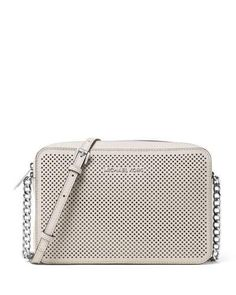 MICHAEL MICHAEL KORS Michael Michael Kors. #michaelmichaelkors #bags #shoulder bags #leather #crossbody #lining #