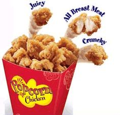 KFC RECIPESS: KFC Popcorn Chicken Recipe