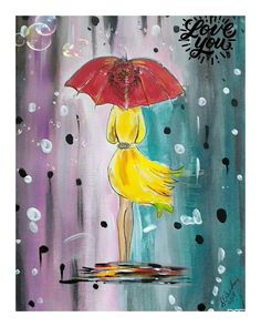 Digital Print Lady In Yellow Dress Red Umbrella Modern Figurative Lady Abstract Lady In Rain For Ladies Girls Etsy UK Sales UK Shops Artwork Dress Red, Yellow Dress, Red Umbrella, Etsy Uk, Figurative, Digital Prints, Art Deco, Rain, Shops