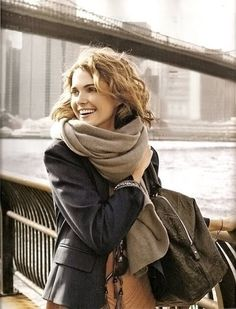 love the big scarf