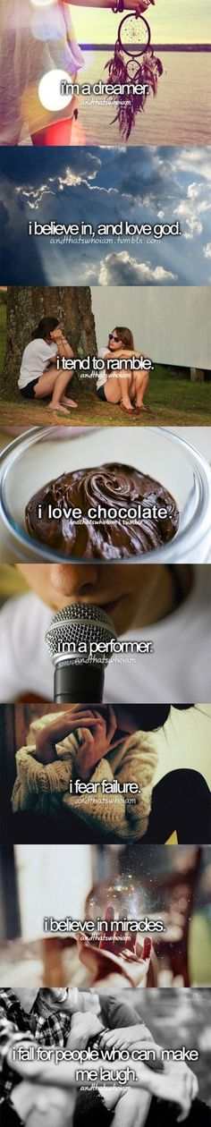 My life summed up.