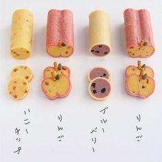 *えん93*(@en93kitchen)• Instagram 相片與影片 Japanese Cookies, Japanese Sweets, Kawaii Cookies, Cute Cookies, Dessert Cake Recipes, Fruit Recipes, Chocolate Pies, Chocolate Cookies, Icebox Cookies