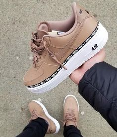 Discover recipes, home ideas, style inspiration and other ideas to try. Nike Shoes Air Force, Nike Air Force Ones, Cute Sneakers, Shoes Sneakers, Sneakers Fashion, Fashion Shoes, Fresh Shoes, Hype Shoes, Custom Shoes
