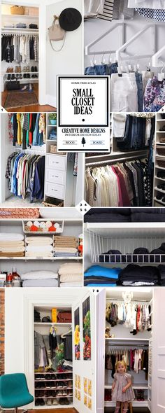 New Small Closet Space Ideas