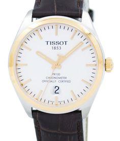 7625747cd30 Tissot PR 100 Quartz COSC T101.451.26.031.00 T1014512603100 Men s Watch