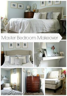 Master Bedroom Makeover (Neutral, Yet Beautiful)