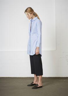 Show details for Shannon Shirt  - Cotton Blue