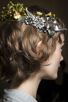 Rodarte Fall 2016 Ready-to-Wear Fashion Show Beauty