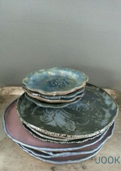 Original handmade dinnerware by #jook.nu #dutch #dishwasser/oven safe.
