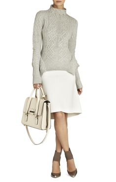 bcbg. Like all of this. Especially like the lite colors and then the contrast in the shoes. Stylin this.