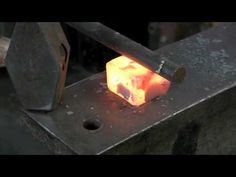 Anvil Tooling - Making a bottom swage - YouTube