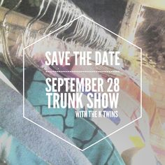 Save the date! Next show is September 28th! #trunkshow #vintage #tctreasures #tomikoscloset