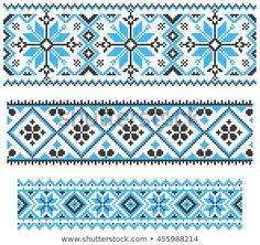 Cross Stitch Bookmarks, Beaded Cross Stitch, Cross Stitch Borders, Cross Stitch Flowers, Cross Stitch Designs, Cross Stitching, Cross Stitch Patterns, Beaded Embroidery, Cross Stitch Embroidery