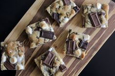 Graham Cracker S'mores Bars - a lot of work but looks really super yummy