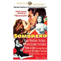 Sombrero (1953) Beautifully filmed in Mexico dramance finally released! Now if they'd just release another favorite Pier Angeli save of mine from a year earlier...