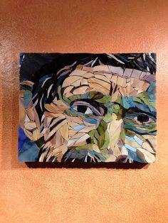 OOAK Sage Mosaic Art