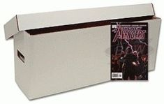 BCW Long Comic Book Storage Box  Bundle of 10 Corrugated Cardboard Storage Box  Comic Book Collecting Supplies *** Check out this great product.