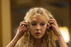 It's Official: Curly Bangs Are the New Cool-Girl Hair Trend