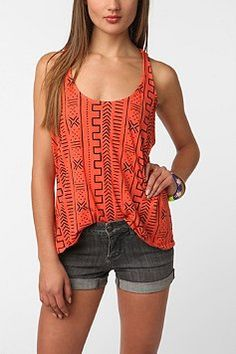 weird aztec design is in and coral