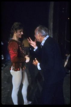 Mikhail Baryshnikov;George Balanchine