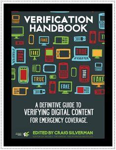 Reseña y enlace directo a manual sobre la verificación de contenido durante coberturas de emergencias.  Fuente: Portal de Clases de Periodismo