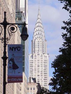 Nueva York Vista del edificio Chrysler