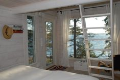 saunamökki sisältä - Google-haku Home Greenhouse, Cabin, Windows, Summer, Inspiration, Sea, Google, Biblical Inspiration, Summer Time