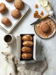 A Cozy Kitchen - Honeycomb Sugar Doughnuts recipe Cobbler, Fudge, Muffins, Sugar Donut, Cheesecake, Cozy Kitchen, Base Foods, Sweet Bread, Doughnuts