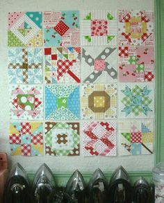 My Farmers Wife Tutorials on each of these blocks