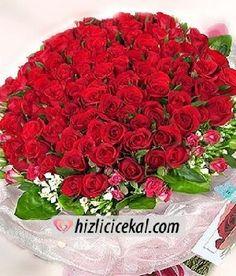101 Gül Buketi  Hızlı Çiçek Al ile sevdiklerinize aynı gün teslimat seçeneği ile 101 adet kırmızı güllerden hazırlanmış gül buketi sipariş edin.  http://www.hizlicicekal.com/cicekler/cicekciler/cicek/125/101-gul-buketi/