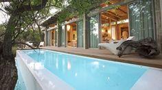 Private Lap Pool & Deck Area of a Superior Suite at Kapama Karula Lodge, Kapama Private Game Reserve. www.kapama.co.za