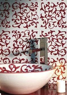 Rivestimenti Decorati a Mano - - Seconda scelta - Dimensione 20x20 - Decori assortiti su: http://www.magazzinodellapiastrella.it/offerte-rivestimenti-firenze.php #rivestimentibagno #rivestimentidecorati #arredocasa #ristrutturacasa #casa #rivestimentiinterni