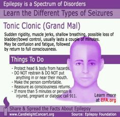 How to explain to children about what Daddy has...Tonic clonic #epilepsy