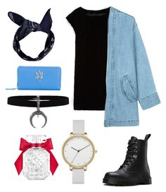 """Untitled #60"" by kimtahyung on Polyvore featuring Boden, Dr. Martens, Alexander McQueen, Boohoo, Skagen and Victoria's Secret"