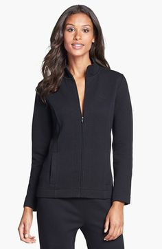 Lauren Ralph Lauren Quilted Lounge Jacket available at #Nordstrom. I have an affection for elegant lounging clothes.
