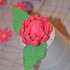My fondant flower
