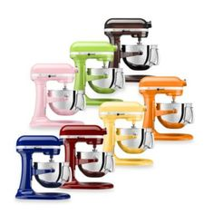 KitchenAid® Professional 600™ Series 6-Quart Bowl Lift Stand Mixer - BedBathandBeyond.com  450.00 PEARL METALLIC COLOR