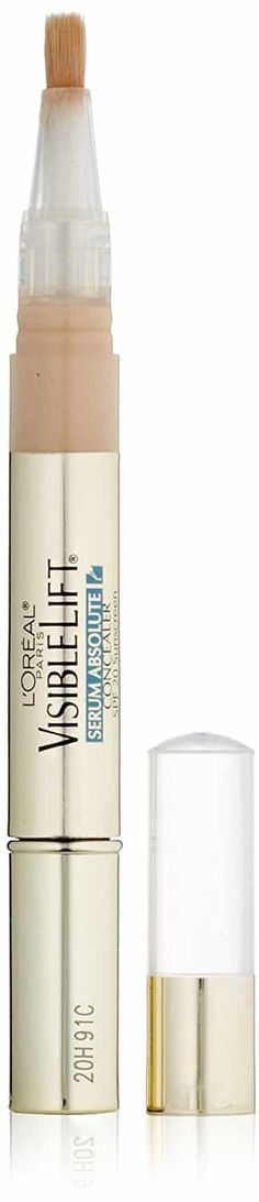 L'Oreal Paris Visible Lift Serum Absolute Concealer, Light oz (Pack of : Beauty Best Under Eye Concealer, Best Concealer, Too Faced Concealer, Even Skin Tone, L'oréal Paris, Flawless Skin, Loreal, Makeup, Count