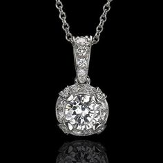 How about a beautiful diamond pendant for the bride?  The Jackson is in Juniker Jewelry's Heritage Collection.     #bridaljewelry, #diamondpendant, #diamondgoals Find it here:  http://www.junikerjewelry.com/the-jackson-59823