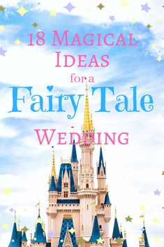 Fairy Tale themed wedding photography and decoration inspiration