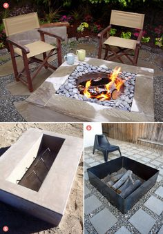 Roundup: 6 Awesome and Easy DIY Fire Pits