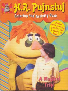 H.R. Pufnstuf coloring and activity book