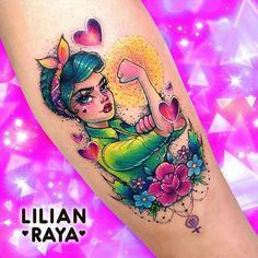 Girly Tattoos, Pin Up Tattoos, Dream Tattoos, Badass Tattoos, Future Tattoos, Love Tattoos, Beautiful Tattoos, Body Art Tattoos, Melanie Martinez Style