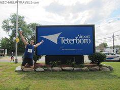 MichaelW Travels...: Jumping at the Teterboro Airport Runway Run 5K