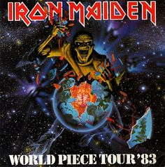Iron Maiden World Tour 1983