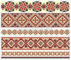 Ukraina haftowane — Ilustracja stockowa #8028762