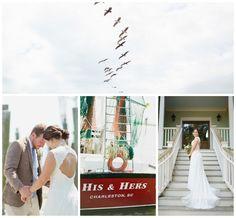 Charleston Beach House Wedding