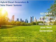 Hybrid Diesel Genera